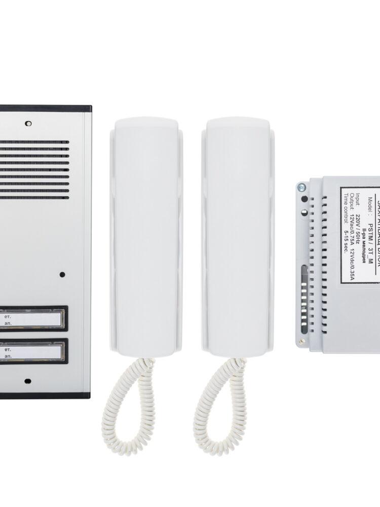 Аудио домофонна система за 2 абоната